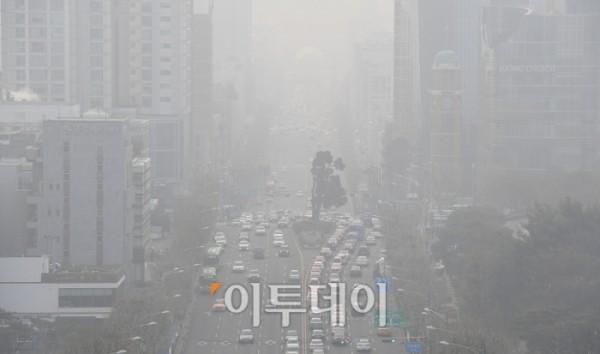 마스크 써야하는 미세먼지 '나쁨'지역 어디?