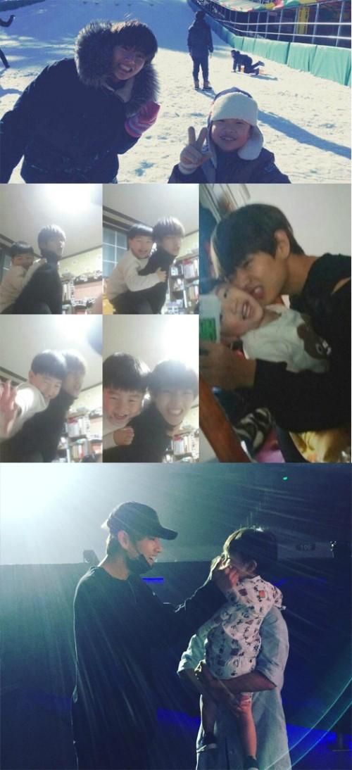 방탄소년단 뷔, '우는 아이도 바로 그칠 것 같은 스윗한 매력 스타' 1위
