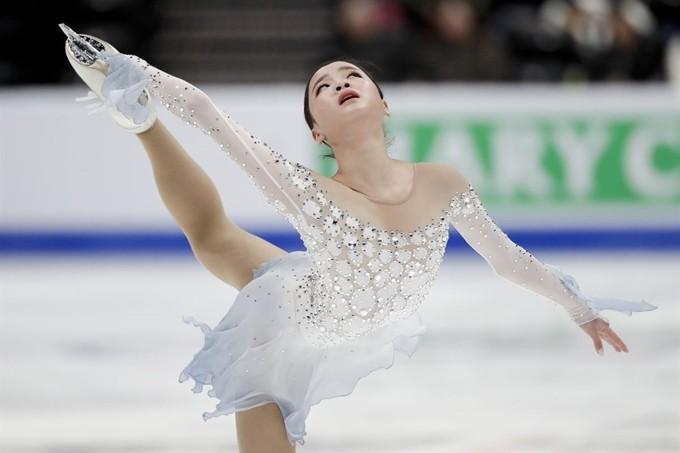 피겨 임은수, 세계선수권 쇼트 5위…개인 최고 72.91점