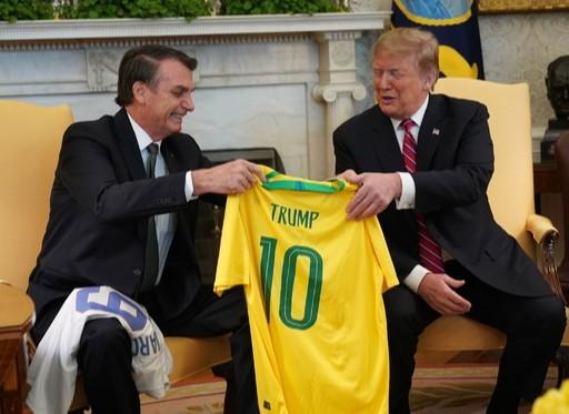 트럼프, 브라질 '非나토' 동맹국 추진
