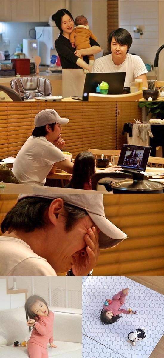 '동상이몽2' 윤상현, 메이비 전성기 모습에 울컥…눈물 펑펑