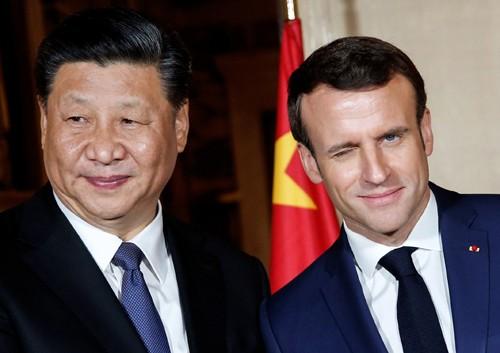 시진핑, 프랑스 방문… '일대일로' 공들이기