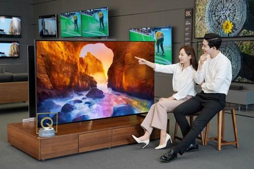 최신 삼성 QLED TV 국내 출시