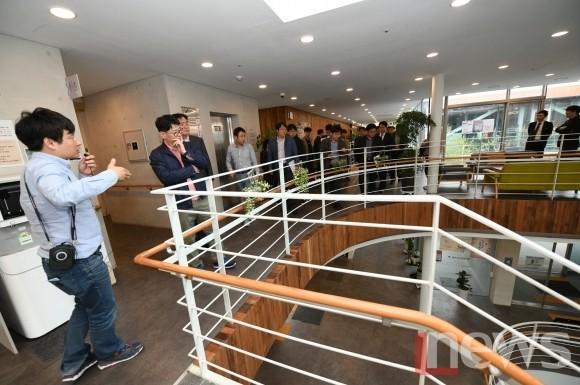 정부 생활 SOC추진단, 영주시 공공건축 디자인개선 현장 방문