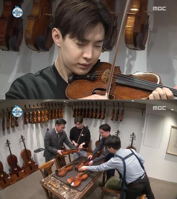 """'나 혼자 산다' 헨리, 20억짜리 바이올린 켜본 소감 """"소리가 깊다…너무 행복"""""""