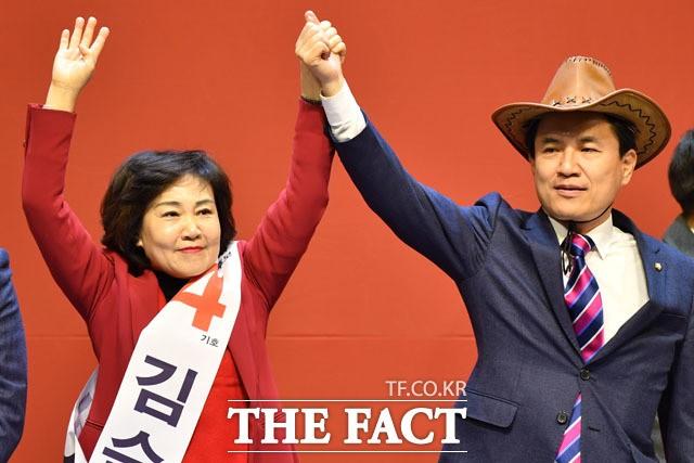 김진태·김순례 '솜방망이' 징계… 극우 지지층 의식?