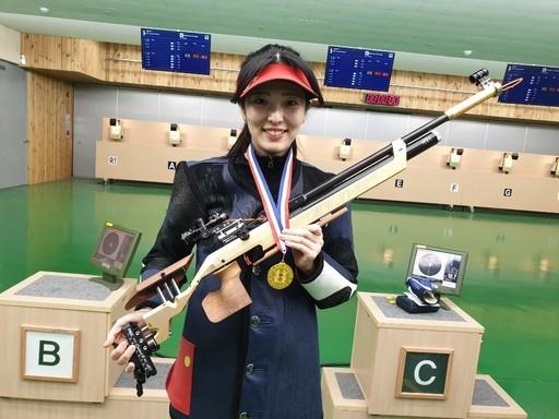 정미라, 회장기전국사격대회서 10M 공기소총 대회 신기록…금메달 쐈다