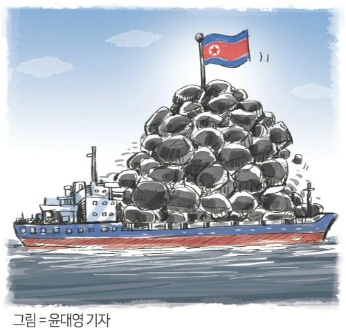"""""""유엔, 북한산 석탄 재수출 정황 조사중"""""""