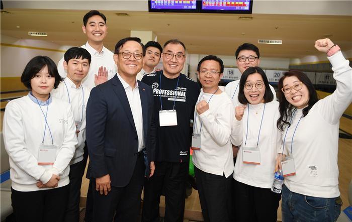 한화투자증권, CEO배 전사 자선 볼링대회 개최