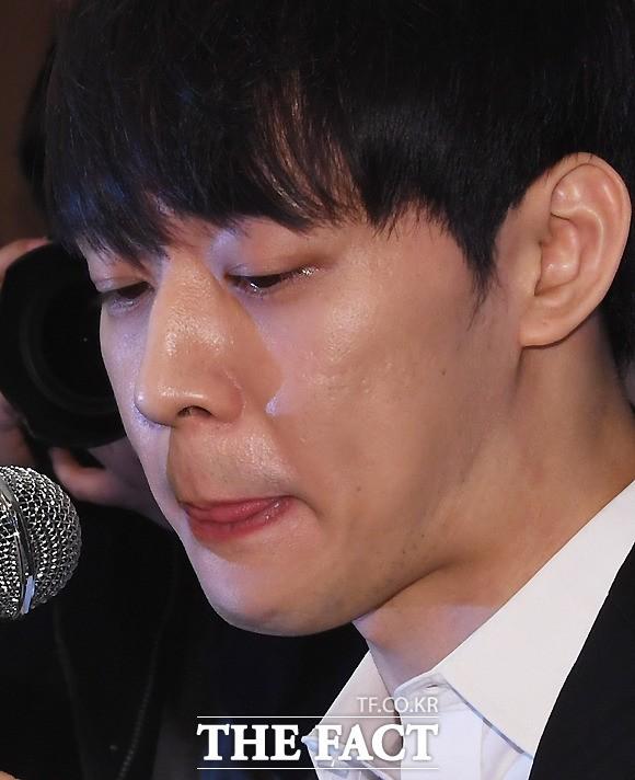 '아니라더니…' 박유천, 마약 반응 검사 '양성'