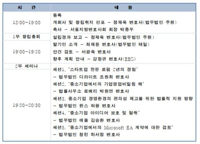 """""""혁신성장 위한 법제 논의""""…'중소벤처기업법 포럼' 발족"""