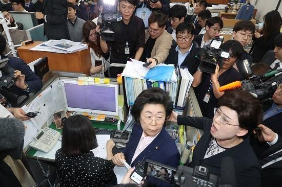 국회 사무처, '의안과 사무실 점거' 한국당 고발