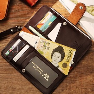 갤럭시S8출시 Wcase 양면지갑 핸드폰케이스