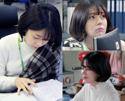 '저글러스' 백진희, 매력발산 3종 스틸사진 공개