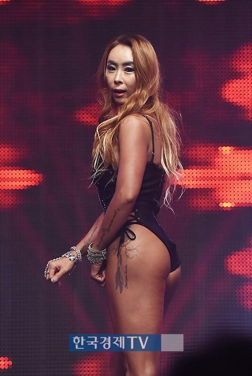 '머슬마니아 세계대회' 박은희, 숨막히는 뒤태