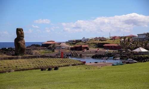 """""""이스터 섬 독립해야""""… 칠레 의회 진출에 첫 도전한 라파누이 여성"""