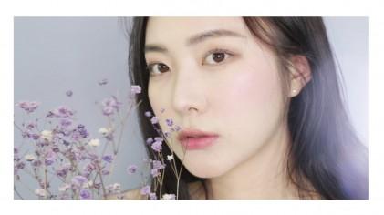 요청) 라일리 데일리 메이크업 4탄 아이라인 없이 간단한 라벤더 메이크업 ! Lavender daily makeup ♡ Coco Riley 코코 라일리