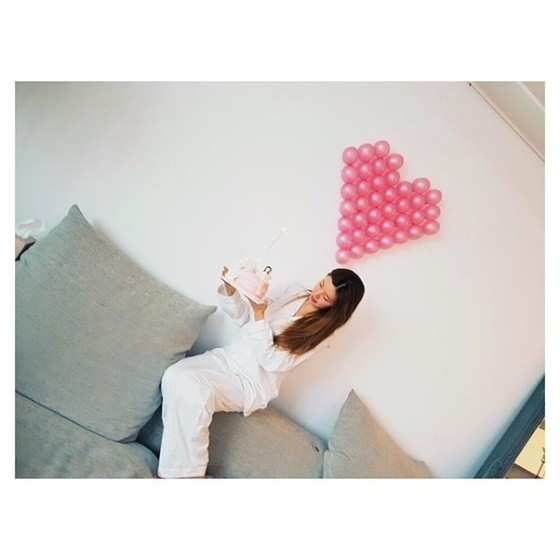 """박한별, 결혼 발표 전 일상 사진에서도 여전한 여신 미모…""""행복했던 하루"""""""