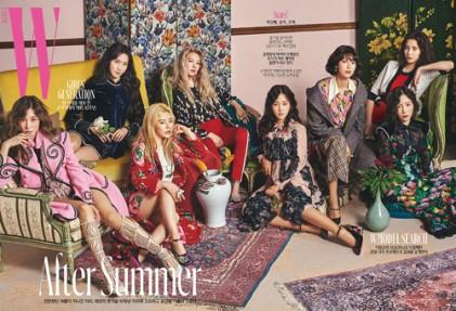 소녀시대 데뷔 10주년, 화보 공개…'시선 강탈'