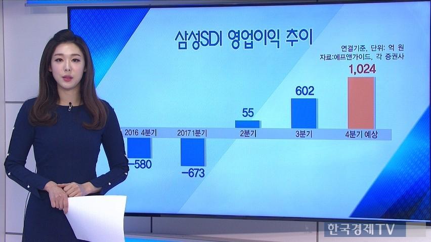 삼성SDI 영업이익 흑자전환 전망