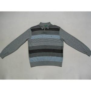 로가디스 추동 3색 가로줄무늬 모직 니트 사이즈 100