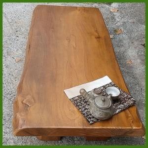 솔빛굽은통판 공장직영 원목좌탁/원목테이블