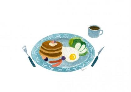 브런치 그리기_ 푸드일러스트 Food illustration _ Brunch drawing