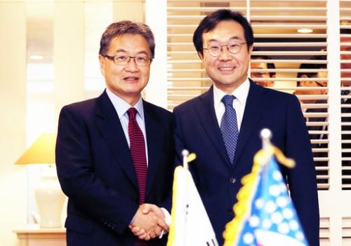 한·미 '비핵화 협상 재개' 대북정책 조율
