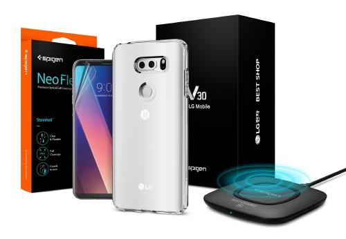 LG전자 'V30', LG 베스트샵 개통고객 대상 슈피겐 3종 기프트팩 증정