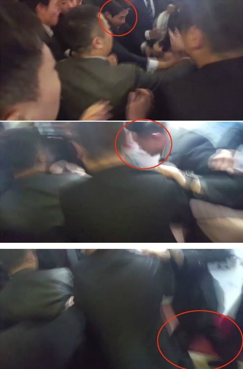 """이대 조기숙 교수, 대통령 수행기자 폭행 중국 경호원에 """"정당방위"""""""