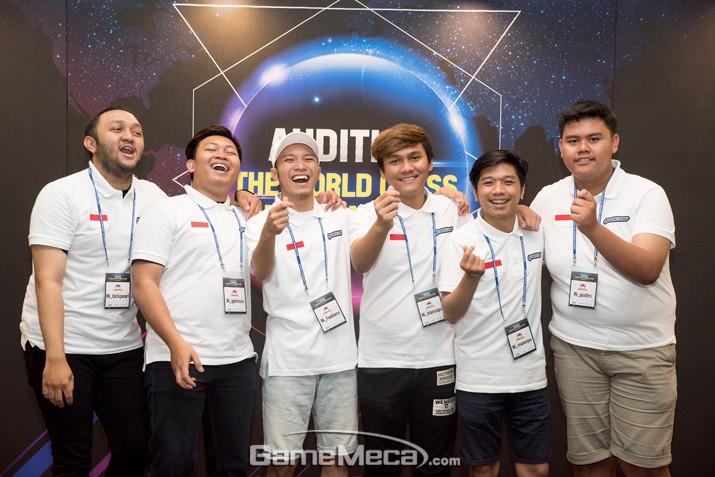 오디션 첫 글로벌 대회, 인도네시아의 우승으로 마무리