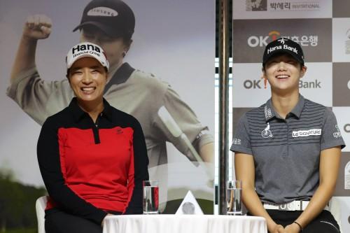'세계 2위 ' 박성현·'국내 최강' 이정은, 샷 격돌