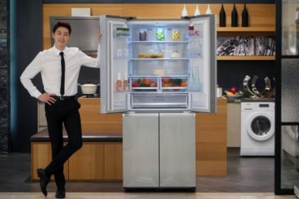 1-2인 가구를 잡아라…삼성전자 '슬림 T-타입 냉장고'
