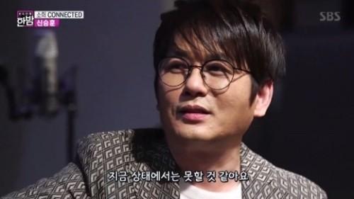 """신승훈 """"'미우새' 고정 출연? 어머니가 절대 반대"""""""