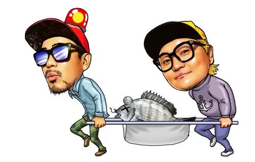 'DJ DOC의 낚시형제' 애니메이션 효과로 시청자들 낚시한다~