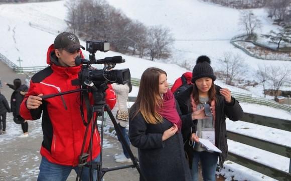 동계올림픽 개최지 강원도, 세계 언론매체 집중 보도
