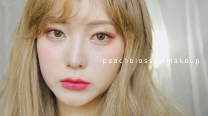 요청) 신 도화살 메이크업! Peach Blossom Makeup ♡ Coco Riley 코코 라일리
