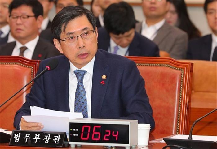 """박상기 """"법무부·검찰, 특활비 공동 사용"""""""
