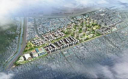 대구도시공사, 안심뉴타운 개발