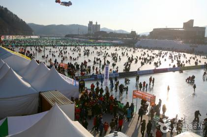 얼음나라 화천산천어축제 2018