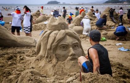 태안 국제모래조각 페스티벌 2017