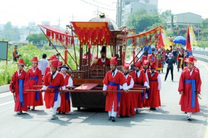 세종대왕과 초정약수축제 2017