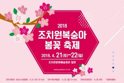 세종 조치원복숭아 봄꽃 축제 2018
