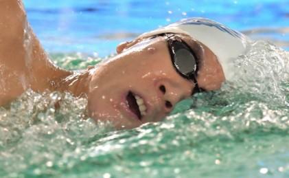 마린보이 박태환, 400m 결승 4위… 그럼에도 웃는다