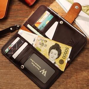 노트8출시/셀카봉or보조배터리증정-양면지갑 폰케이스
