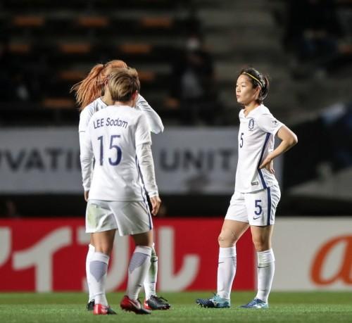 '3전 전패' 한국 여자축구, 결국 빈손으로 마무리