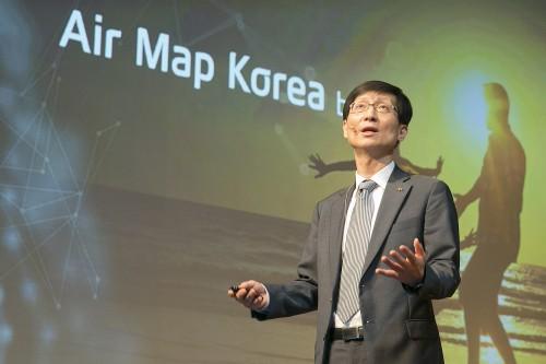 KT, 전국 1500곳에 미세먼지 측정소 설치