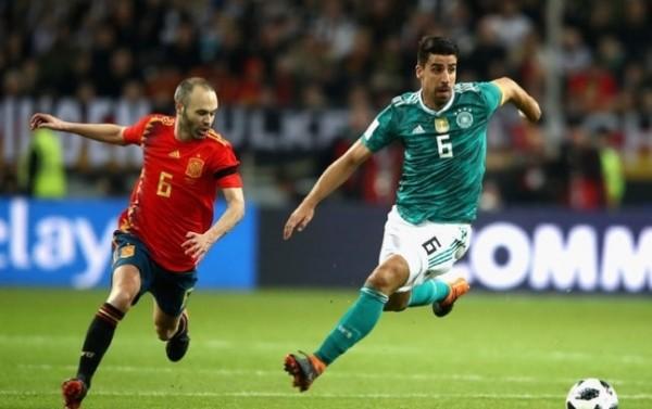 FIFA 랭킹 1위 독일, 스페인 홈으로 불러 1-1 무승부