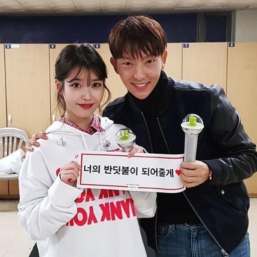"""이준기, 아이유 콘서트장 방문해 남다른 우정 과시…""""유일무이 아티스트"""""""