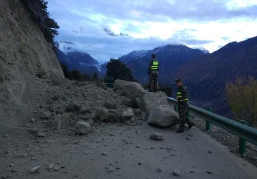 """티베트-인도 접경서 규모 6.3 지진… """"인명 피해 보고 아직 없어"""""""